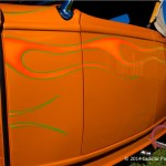 Paint detail of 1932 Ford