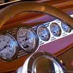 Stunning dash of the 1932 Ford hot rod built by CPR