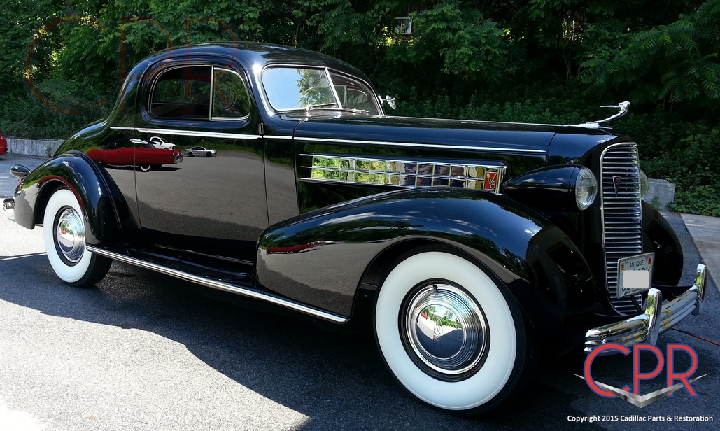 1936 Cadillac V8 Restoration » CPR For Your Car