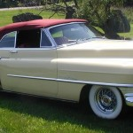1950 Cadillac restoration show winner CPR
