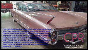 1960 Cadillac restoration by CPR