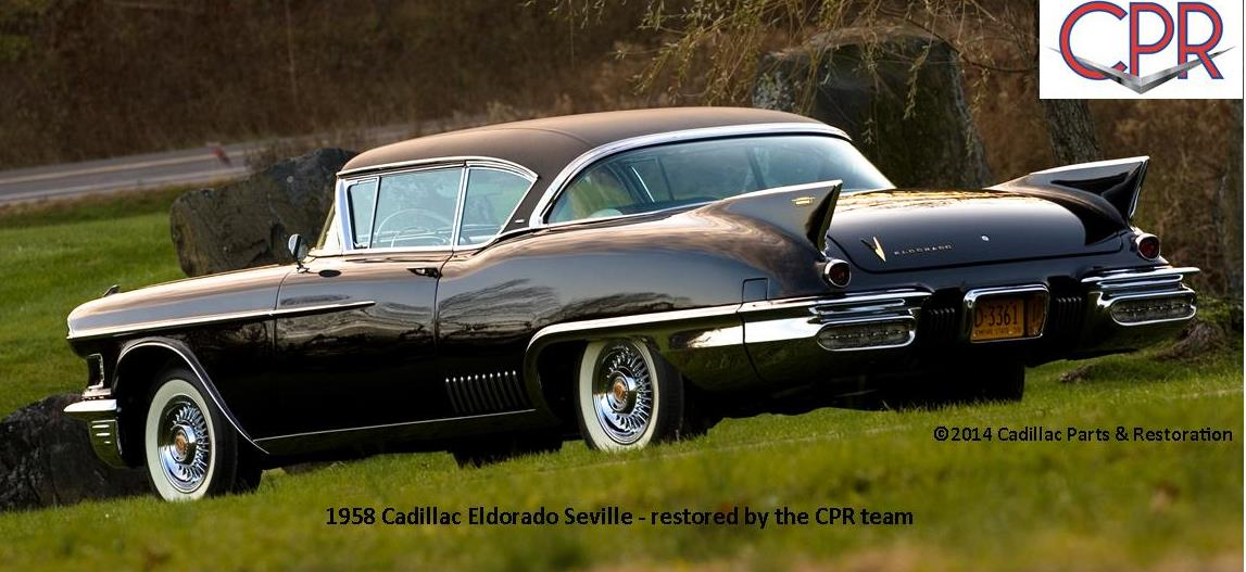 Cpr Restored 1958 Cadillac Eldorado Seville 187 Cpr For Your Car