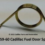 1959-1960 Cadillac fuel door spring