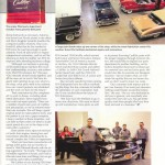 Hemming's Classic Car magazine profile of the team now with Cadillac Parts & Restoration