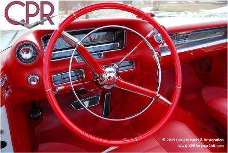 Cadillac Interior Restoration & Upholstery » CPR For Your Car