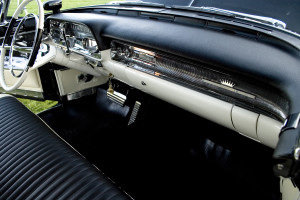 Cadillac interior restored by the CPR team