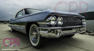1961 Cadillac restoration project by CPR