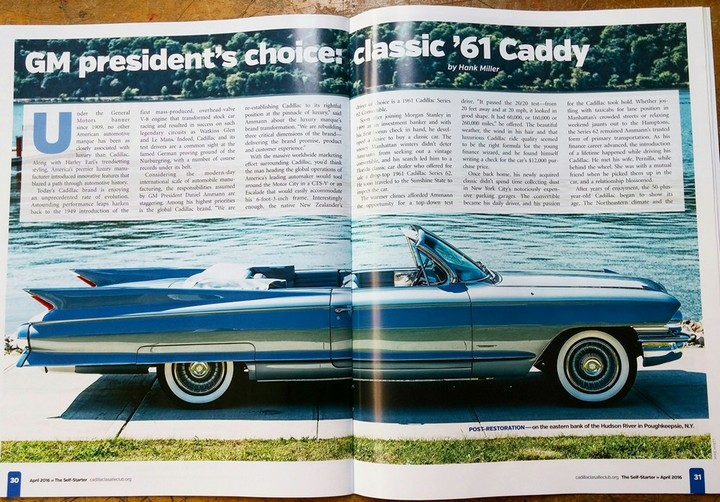 Moving Cadillac Forward, GM's President Looks to Past for ...